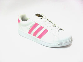 Scarpe Adidas Superstar white/pink