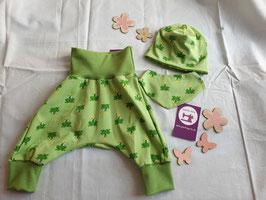 New Born Geschenkset Frosch grün