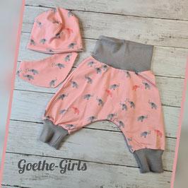 Babyset Elefant rosa