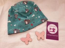 Mütze Waschbär