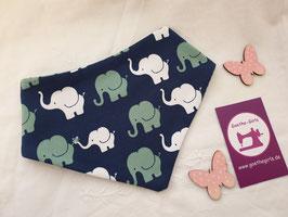 Dreieckstuch Elefanten