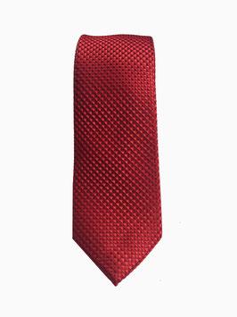 Krawatte rot mit edler Diamanten Struktur P21010-A0