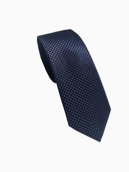 Krawatte blau mit edler Diamanten Struktur P21010-A2