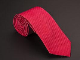 Seidenkrawatte rot Ottoman Struktur D30447-M15