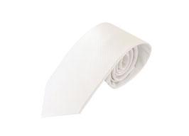 Krawatte weiß P20010-A11