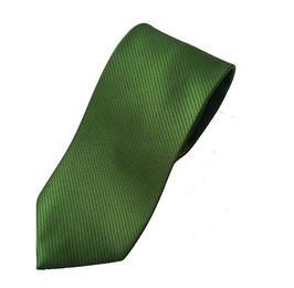 Krawatte grün mit schöner Ottoman Struktur P20010-A4