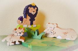 Löwenkönigs Familie Ludwig