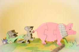 Schweine-Mäuse-Bande