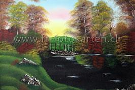 Landschaft Herbst / Karten Nr.1113BR