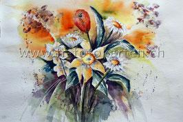 Blumenstrauss / Karten Nr.1128AC