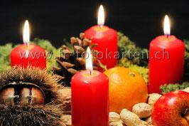 Kerzen / Karten Nr.1136FR