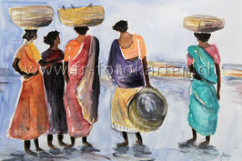 Fischerfrauen / Karten Nr.1122AC