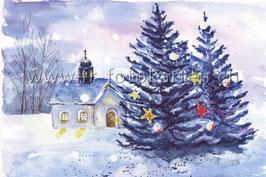 Weihnachtsbäume / Karten Nr.1099AC