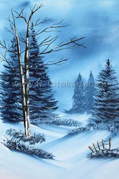 Winterlandschaft / Karten Nr.1110BR