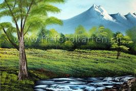 Landschaft Bach / Karten Nr.1111BR