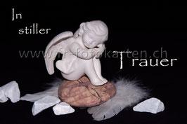 In stiller Trauer / Karten Nr.1026FR