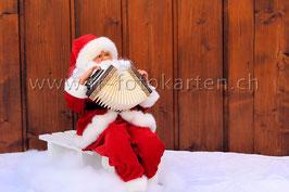 Weihnachtsmann / Karten Nr.1071FR
