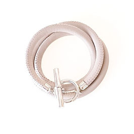 Wickelarmband 3-fach Knebelschließe