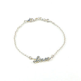 Sterling LOVE Armband