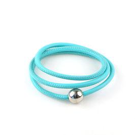 Wickelarmband 3-fach Türkis