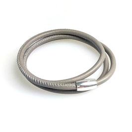 Pures Wickelarmband 3-fach Nappa
