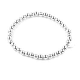 Silberperlen Armband silber