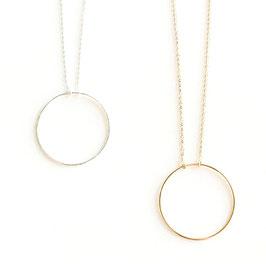 Verbundenheitskette / -armband großer Ring