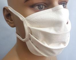 """Mund-Nasen-Maske """"Basic beige"""""""