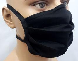 """Mund-Nasen-Maske """"Basic schwarz"""""""