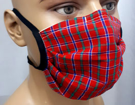 """Mund-Nasen-Maske """"Kariert"""""""