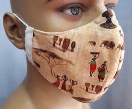 "Mund-Nasen-Maske ""Afrika"""