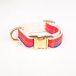 "Schmuckhalsband verstellbar ""Scotty"" pink"