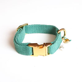 "Verstellbares Schmuckhalsband ""Sea Breeze gold"""