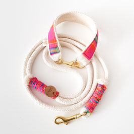 "Schmuckhalsband ""Scotty"" pink"