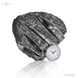 NAUTILUS - SCULPTURE CLOCK