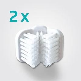 Cleany Teeth Drei-Seiten-Kopf (2er Set)