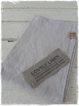 Gästehandtuch *Light Grey*aus Leinen