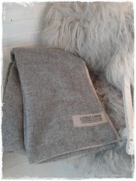 Wunderschöne Decke * Lovely Wool* Natural Beige
