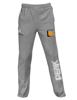 PEAK Sweatpants Grey mit TUSLI Logo und Wunschname
