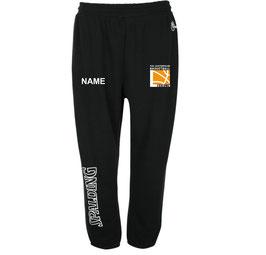 TEAM II Long Pants Schwarz mit TUSLI Logo und Wunschname