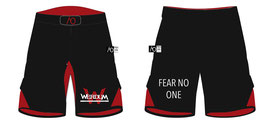 Fightshort Rouge/Noir