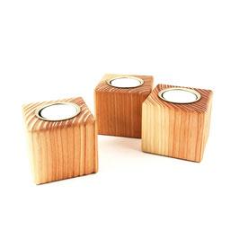 Kerzenhalter aus Holz - Gr. S - Vela 1.1 - El Palo Germany