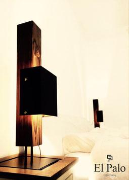 Tischleuchte aus Holz - LED - Madero.One - El Palo Germany