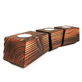 Kerzenhalter Kombination aus Holz- Vela Vector 2.0 - El Palo Germany
