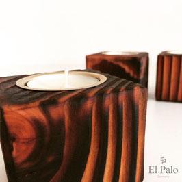 Kerzenhalter aus Holz - Gr. S - Vela 1.2 - El Palo Germany