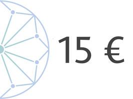 15 € Geschenkgutschein