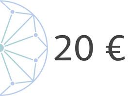 20 € Geschenkgutschein