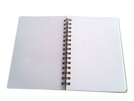 Cuadernos Wire-O con goma
