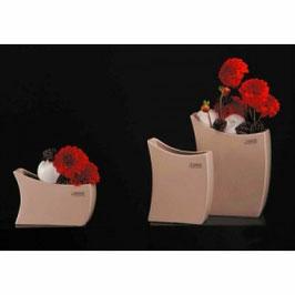 Tiziano Vase Palmi 16 cm flach loreen