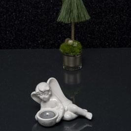 Tiziano Engel Ricardo mit Licht 10 cm creme 2 fach sortiert lieg